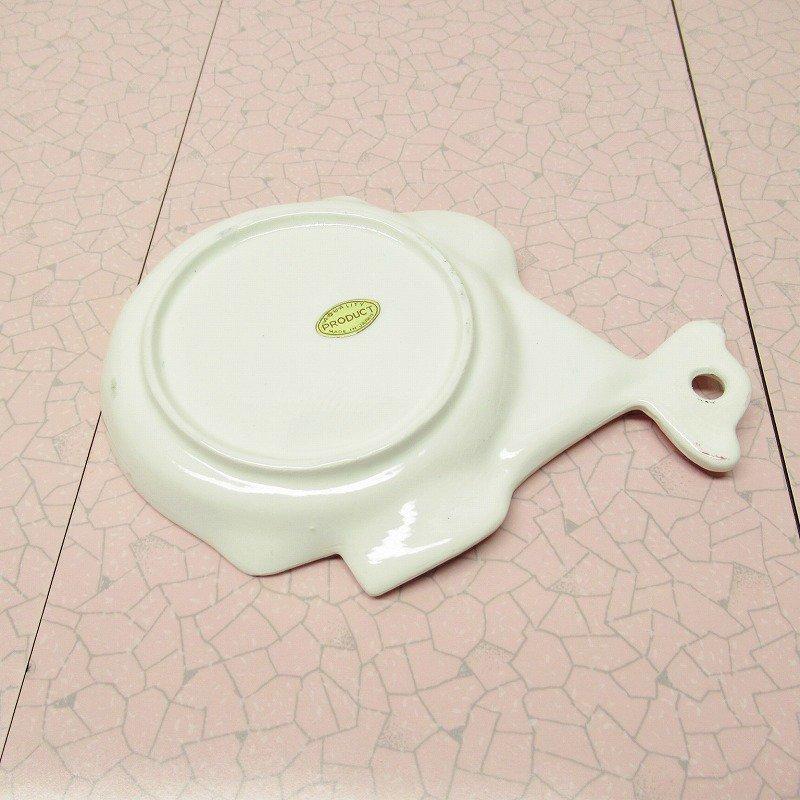 スプーンレスト 壁掛け ピンクキッチン 米国輸出用日本製 ラベル付【画像8】