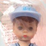 マクドナルドハッピーミール人形  マダムアレキサンダー ドール マクドナルドミール 野球男の子 未使用