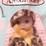 マクドナルドハッピーミール人形  マダムアレキサンダー ドール マクドナルドミール レオパード 未使用