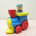 フィッシャープライスとプレイスクールトイなど  フィッシャープライス 機関車トイ 1996年