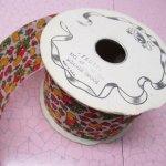 シームテープ&トリム  ファブリックリボン クラフト用 フルーツ柄 メートル販売