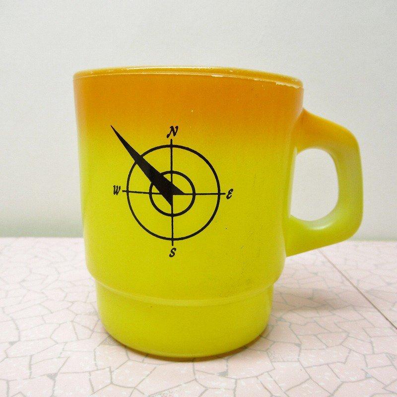 ファイヤーキング ノースウエスタンバンク マグ オレンジ&黄色 C