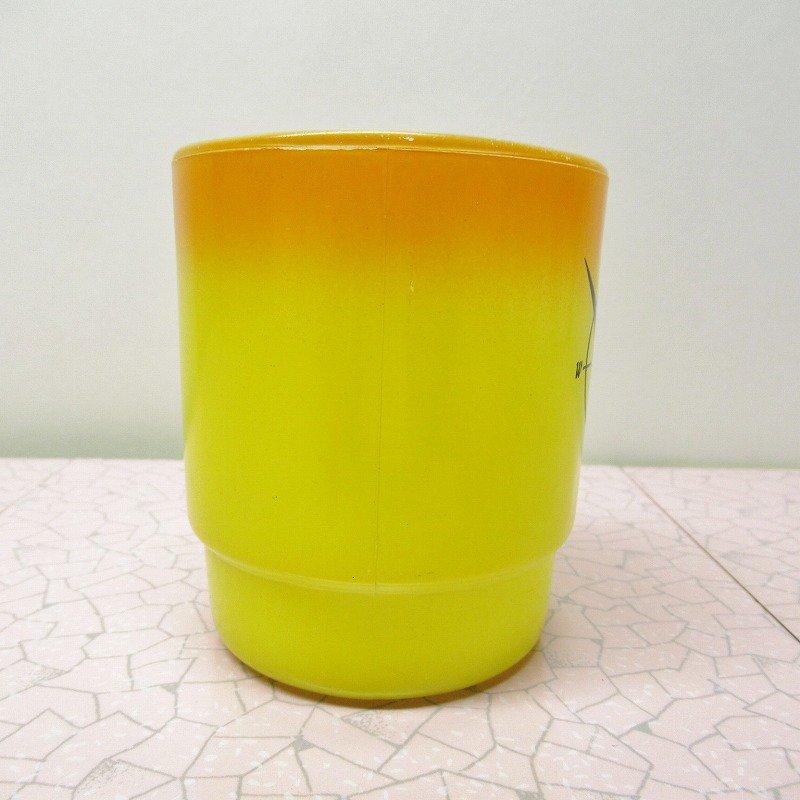 ファイヤーキング ノースウエスタンバンク マグ オレンジ&黄色 C【画像2】