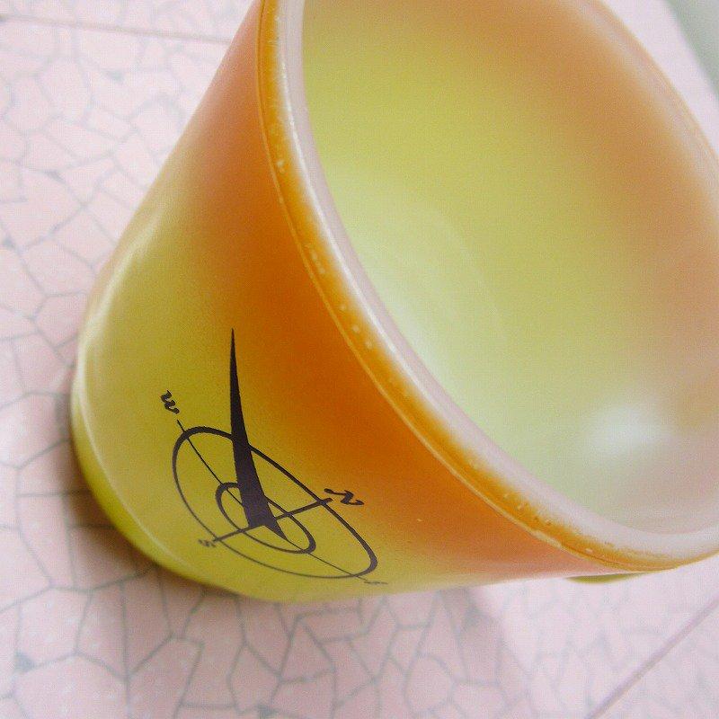 ファイヤーキング ノースウエスタンバンク マグ オレンジ&黄色 C【画像9】
