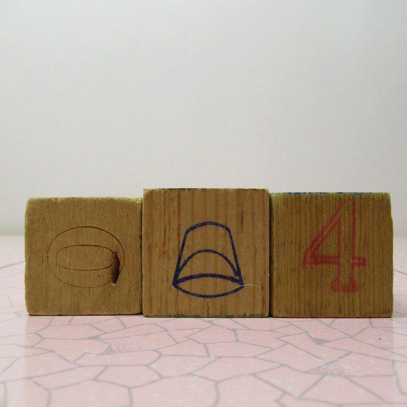 アルファベットブロック 木製 MUG【A】【画像5】
