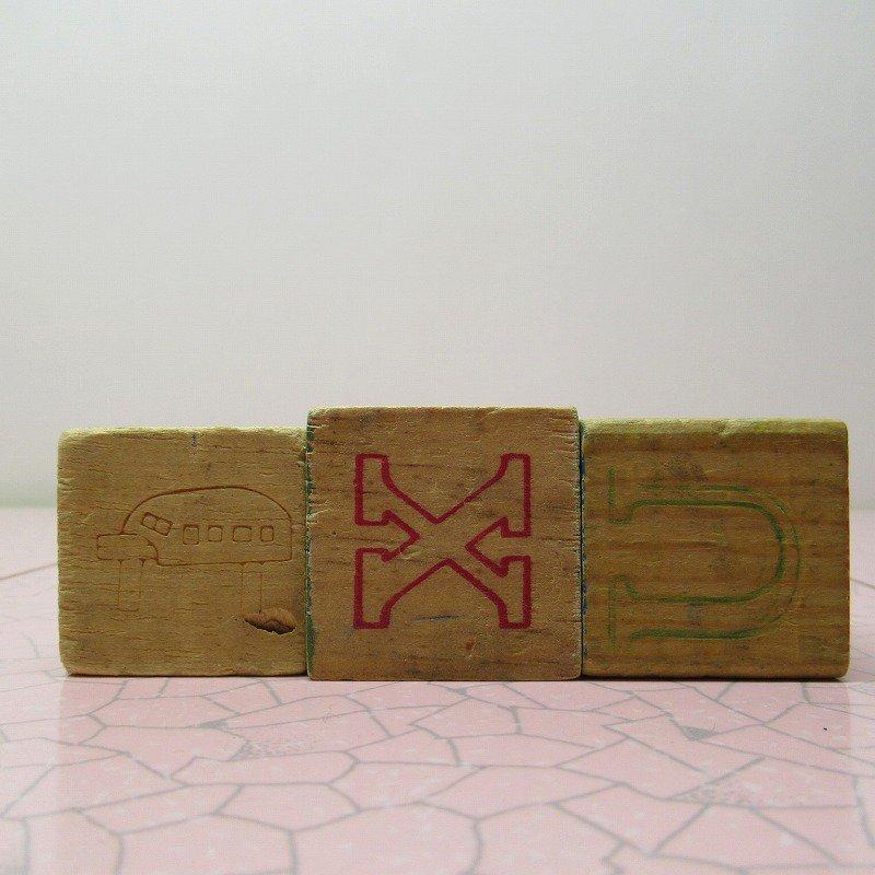 アルファベットブロック 木製 MUG【A】【画像6】