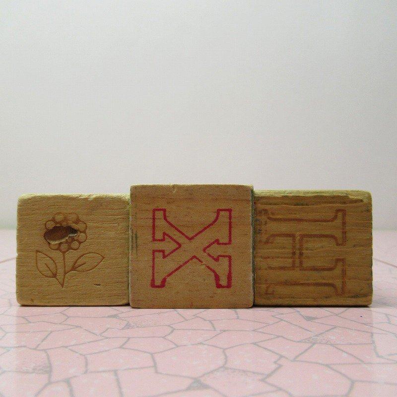 アルファベットブロック 木製 MUG【A】【画像7】