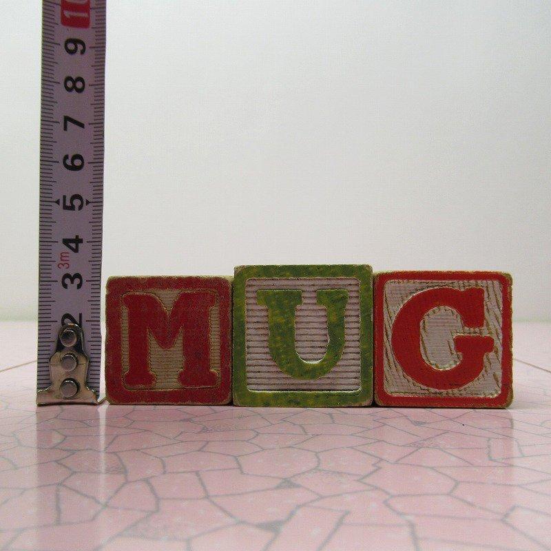 アルファベットブロック 木製 MUG【A】【画像8】