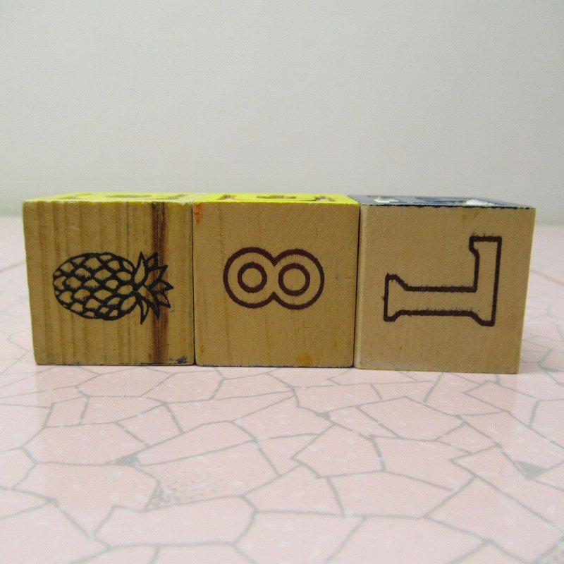 アルファベットブロック 木製 CUP【画像3】