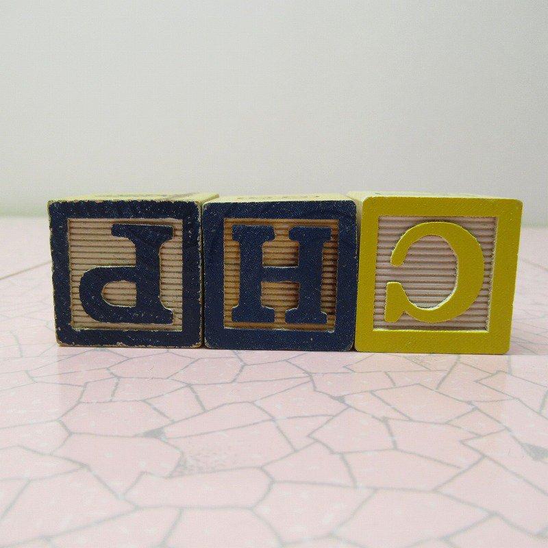 アルファベットブロック 木製 CUP【画像4】