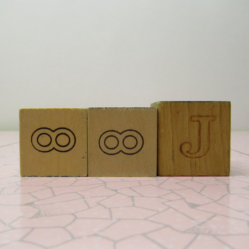アルファベットブロック 木製 HUG【画像5】