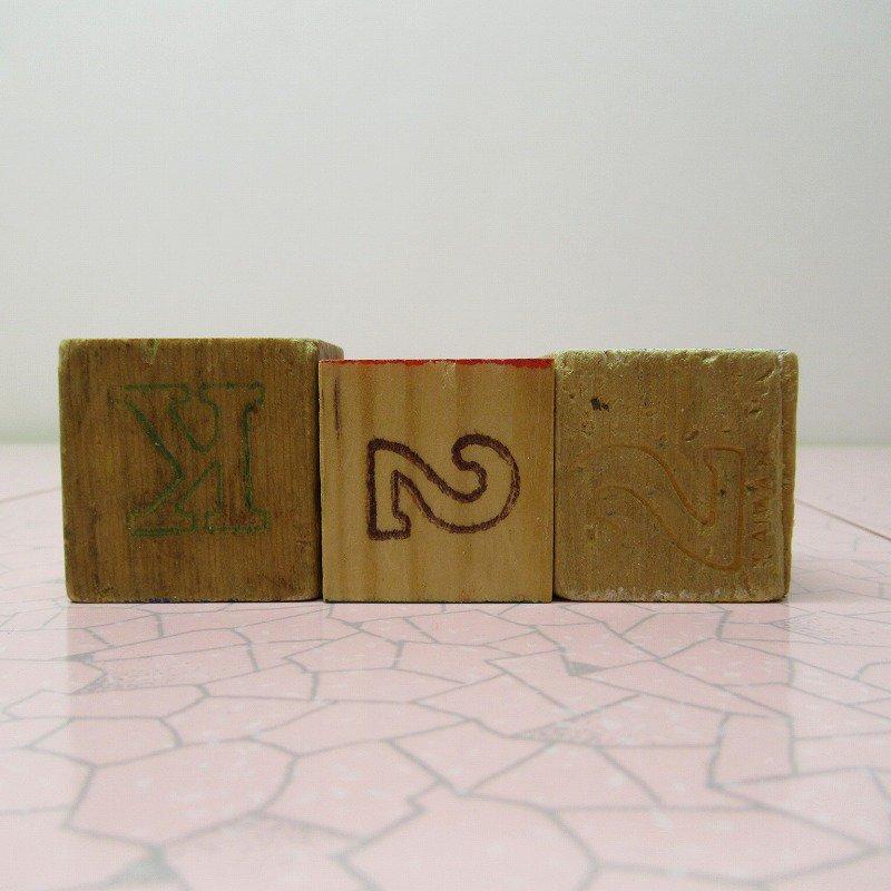 アルファベットブロック 木製 BOX【画像3】