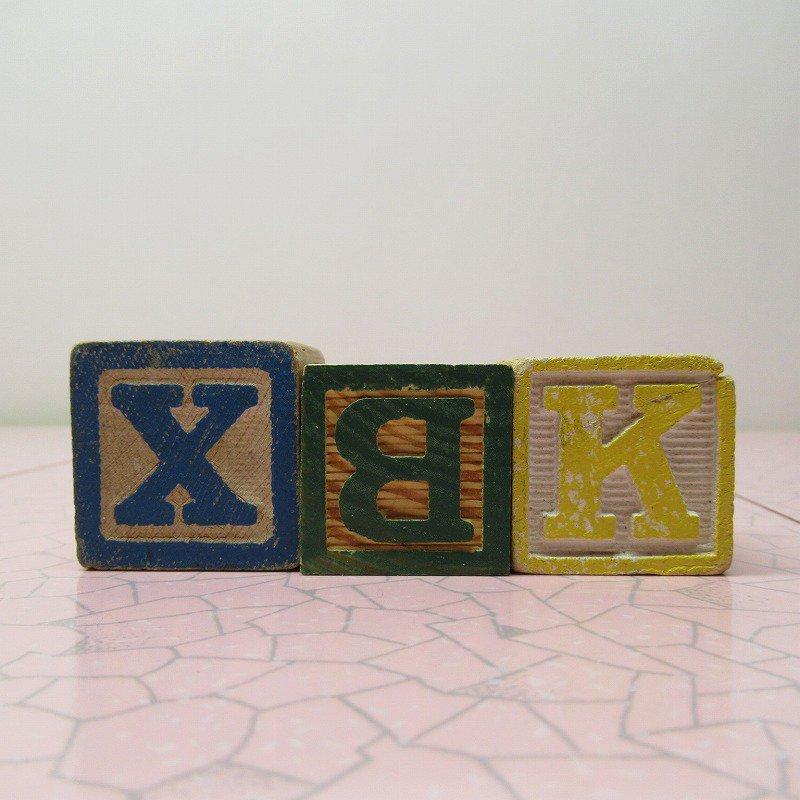 アルファベットブロック 木製 BOX【画像4】