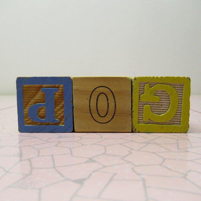 アルファベットブロック 木製 CAT【画像4】