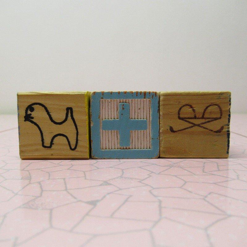 アルファベットブロック 木製 CAT【画像6】