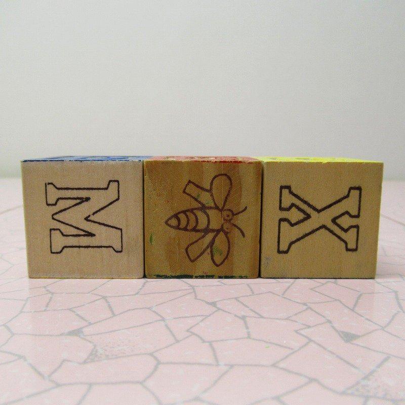 アルファベットブロック 木製 DOG【画像3】