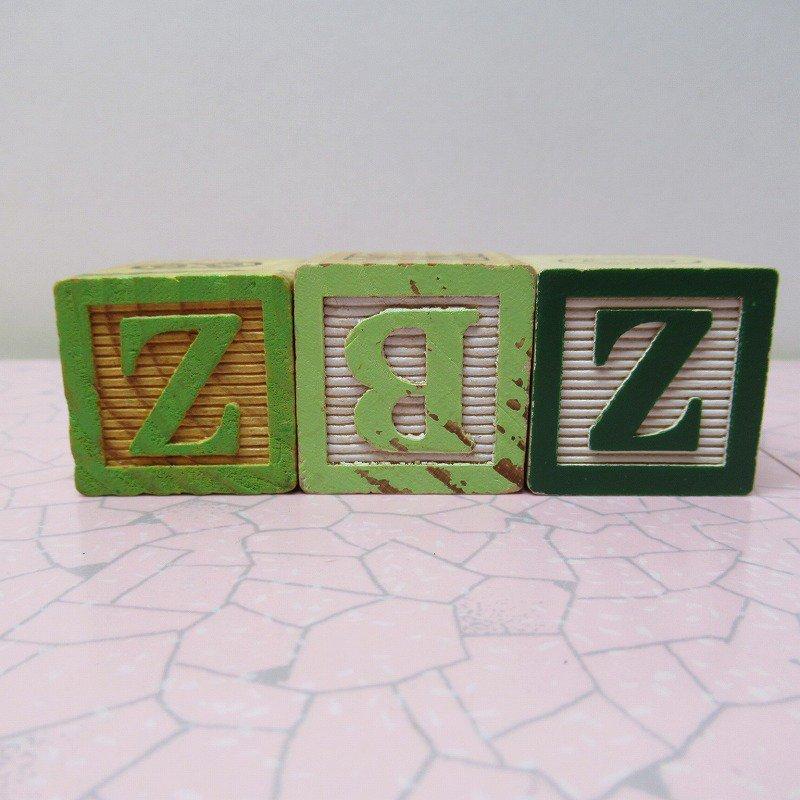 アルファベットブロック 木製 MOM【画像3】