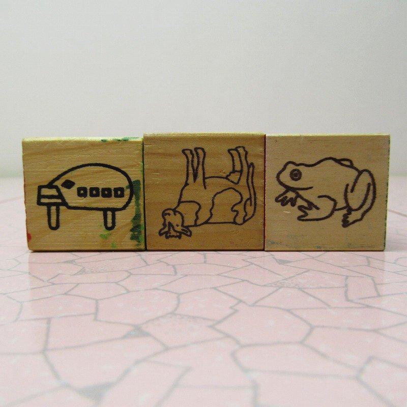アルファベットブロック 木製 MOM【画像6】