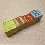 トランプ・パズル・ゲーム・塗り絵・ステンシルなど  アルファベットブロック 木製 DISH【A】
