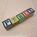 トランプ・パズル・ゲーム・塗り絵・ステンシルなど  アルファベットブロック 木製 PYREX