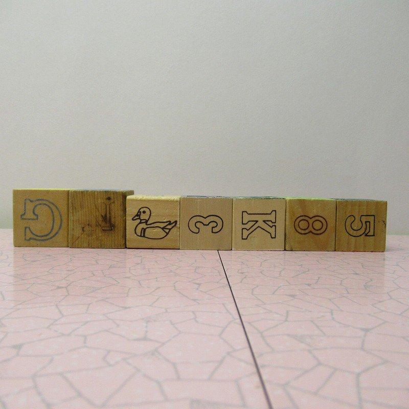 アルファベットブロック 木製 WELCOME【画像5】