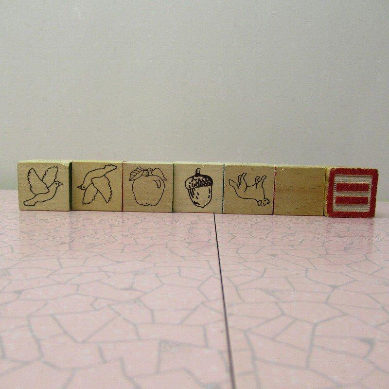 アルファベットブロック 木製 VINTAGE【画像6】