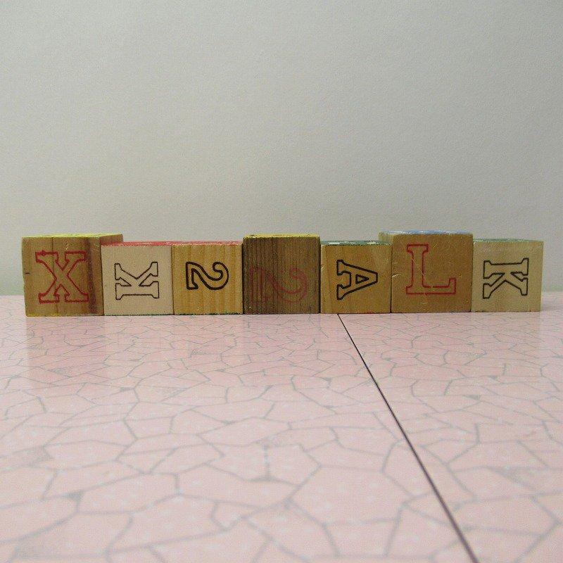 アルファベットブロック 木製 GOOD JOB【画像3】