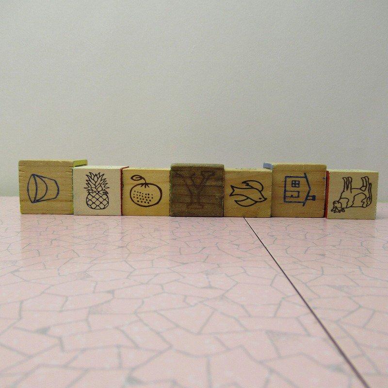 アルファベットブロック 木製 GOOD JOB【画像6】
