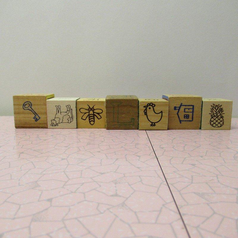 アルファベットブロック 木製 GOOD JOB【画像7】