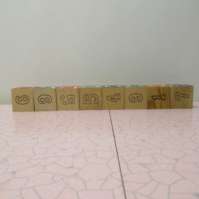 アルファベットブロック 木製 FIRE KING【画像5】