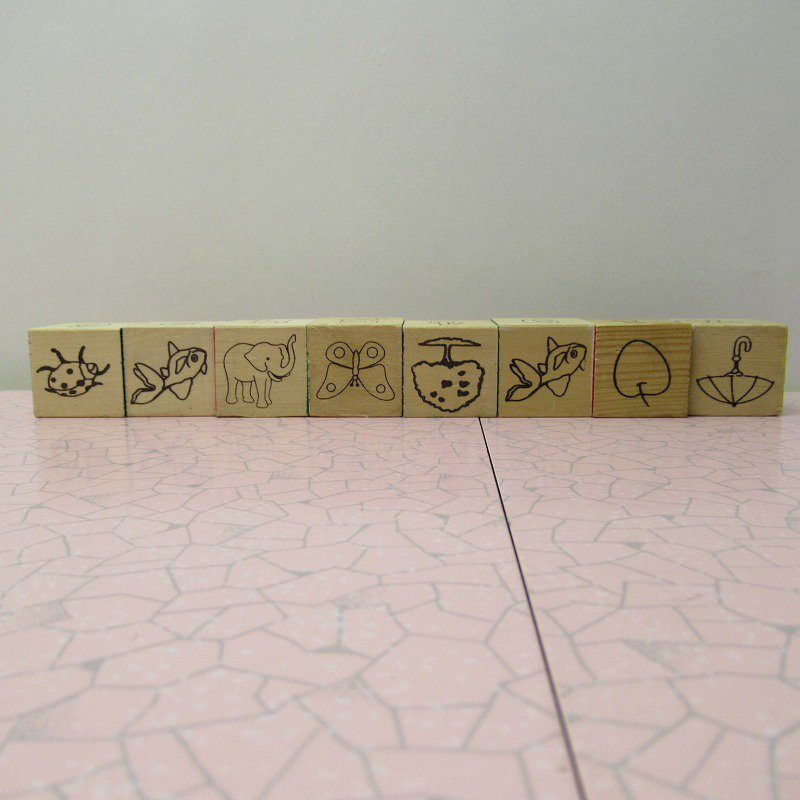 アルファベットブロック 木製 FIRE KING【画像6】
