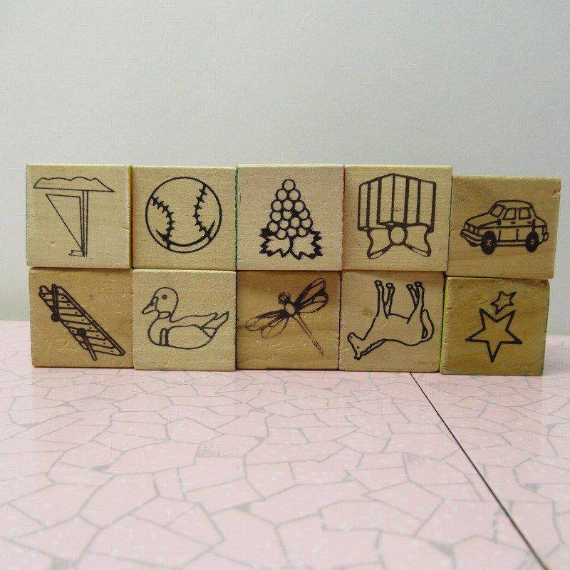 アルファベットブロック 木製 数字セット【A】【画像5】
