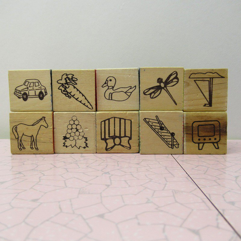アルファベットブロック 木製 数字セット【A】【画像6】