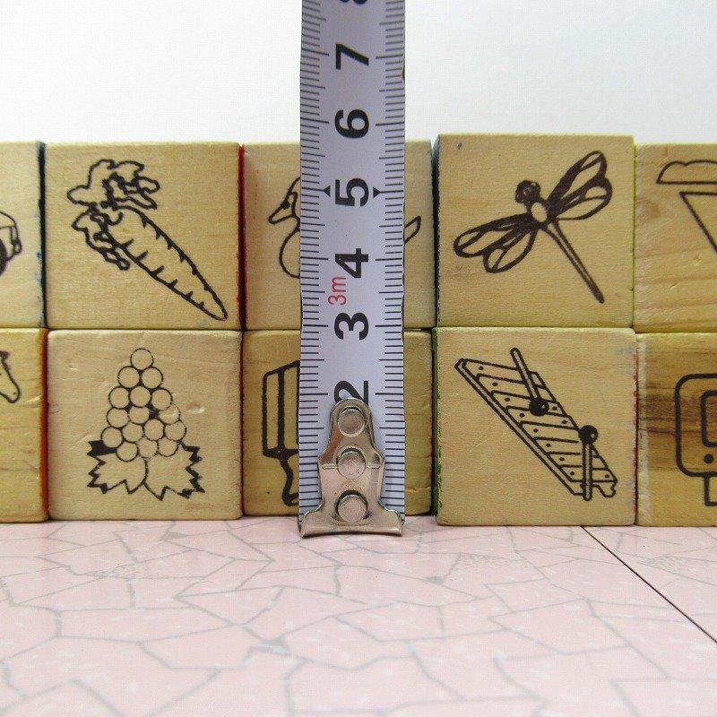 アルファベットブロック 木製 数字セット【A】【画像7】