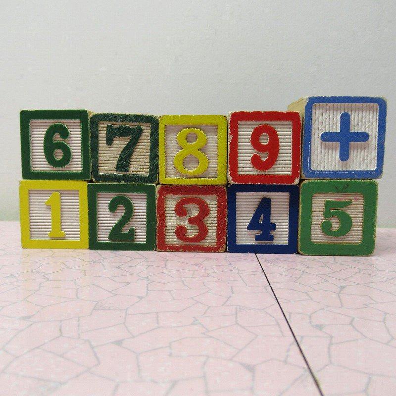 アルファベットブロック 木製 数字セット【C】