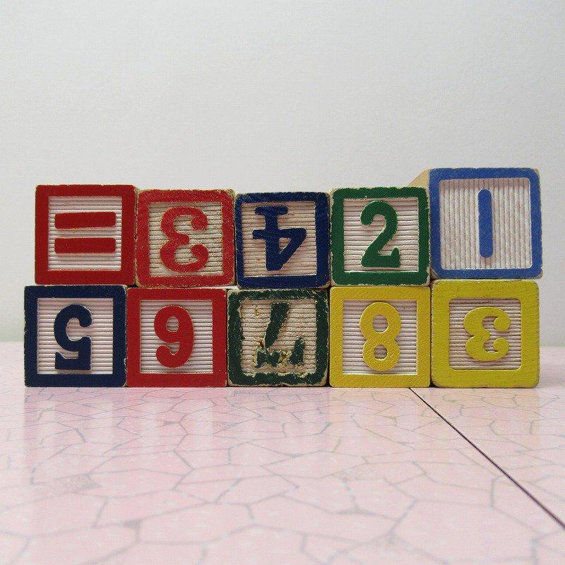 アルファベットブロック 木製 数字セット【C】【画像5】