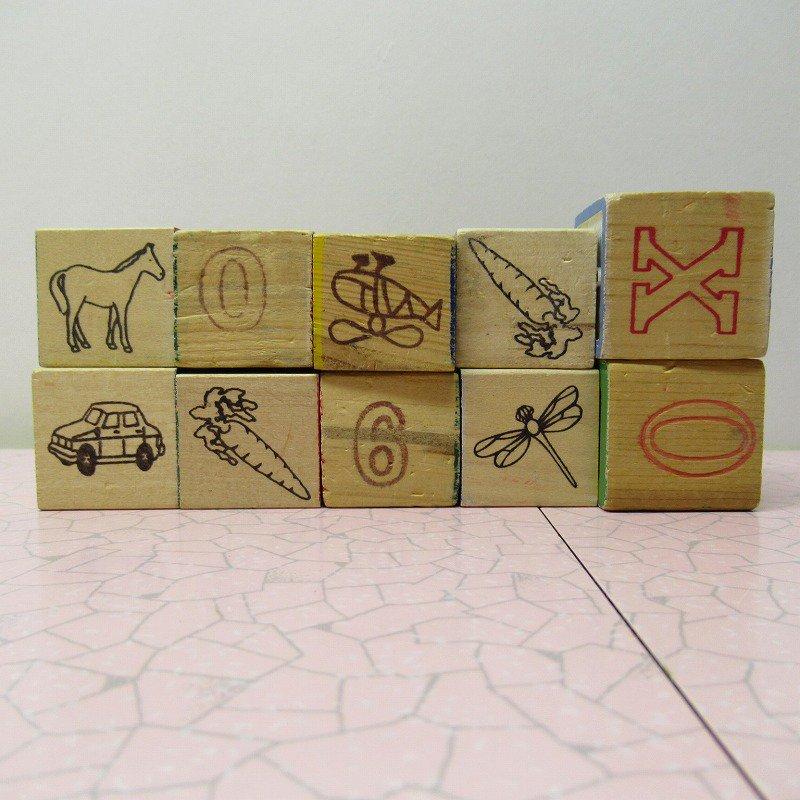 アルファベットブロック 木製 数字セット【C】【画像8】