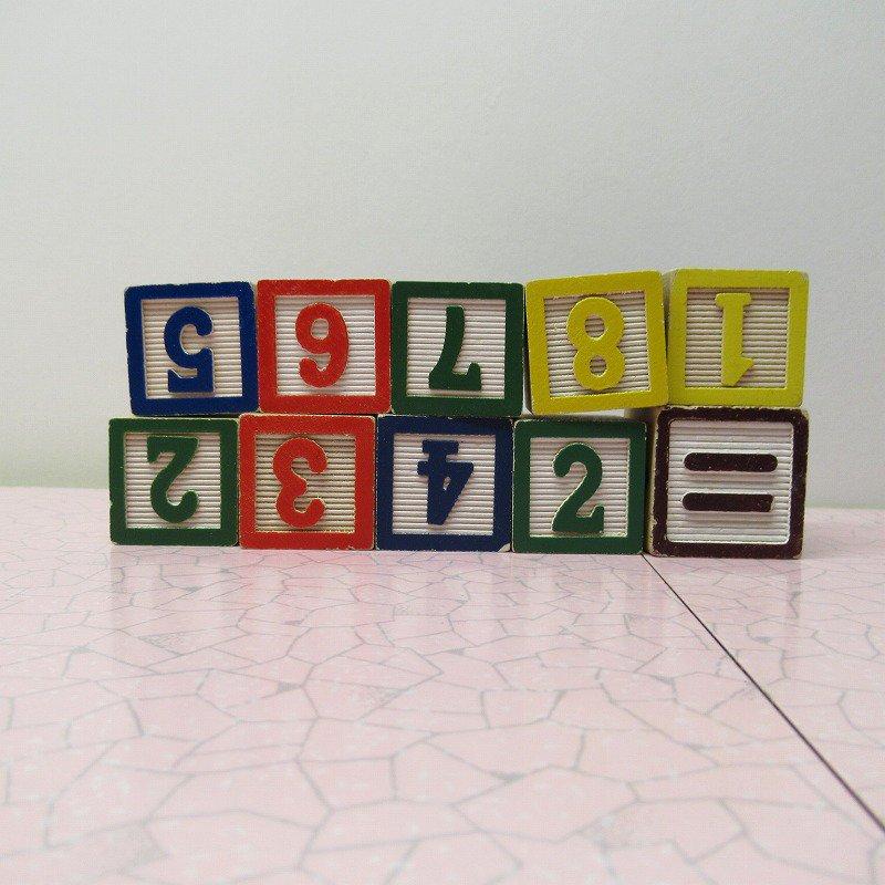 アルファベットブロック 木製 数字セット【D】【画像3】