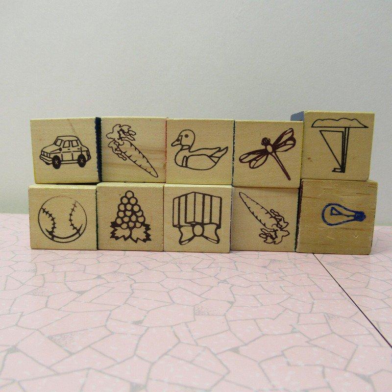 アルファベットブロック 木製 数字セット【D】【画像6】