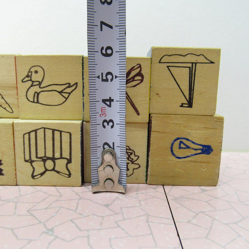 アルファベットブロック 木製 数字セット【D】【画像7】