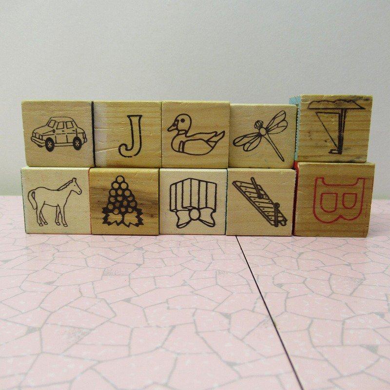 アルファベットブロック 木製 数字セット【E】【画像6】