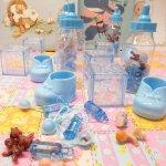 ベビーシャワー ナーサリー 16ピース デコレーションセット【セットE】