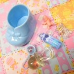 ベビーシャワー ナーサリー 6ピース デコレーションセット【セットK】