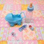 ベビーシャワー ナーサリー 5ピース デコレーションセット【セットN】