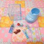 ベビーシャワー ナーサリー 7ピース デコレーションセット【セットR】