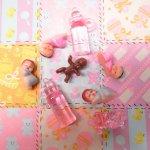 ベビーシャワー ナーサリー 8ピース デコレーションセット【セットV】