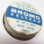 パッケージ&パッケージに味のある雑貨&チーズボックスなど  ジャンク雑貨 薬瓶の蓋 Bromo-Seltzer B
