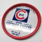 パッケージ&パッケージに味のある雑貨&チーズボックスなど  ジャンク雑貨 メタル製 カッテージチーズ蓋