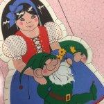 その他  ヴィンテージ 白雪姫 クッションドール用 ファブリック