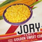 パッケージ&パッケージに味のある雑貨&チーズボックスなど  ラベルシート Jory Brand Corn缶 未使用パッケージ紙